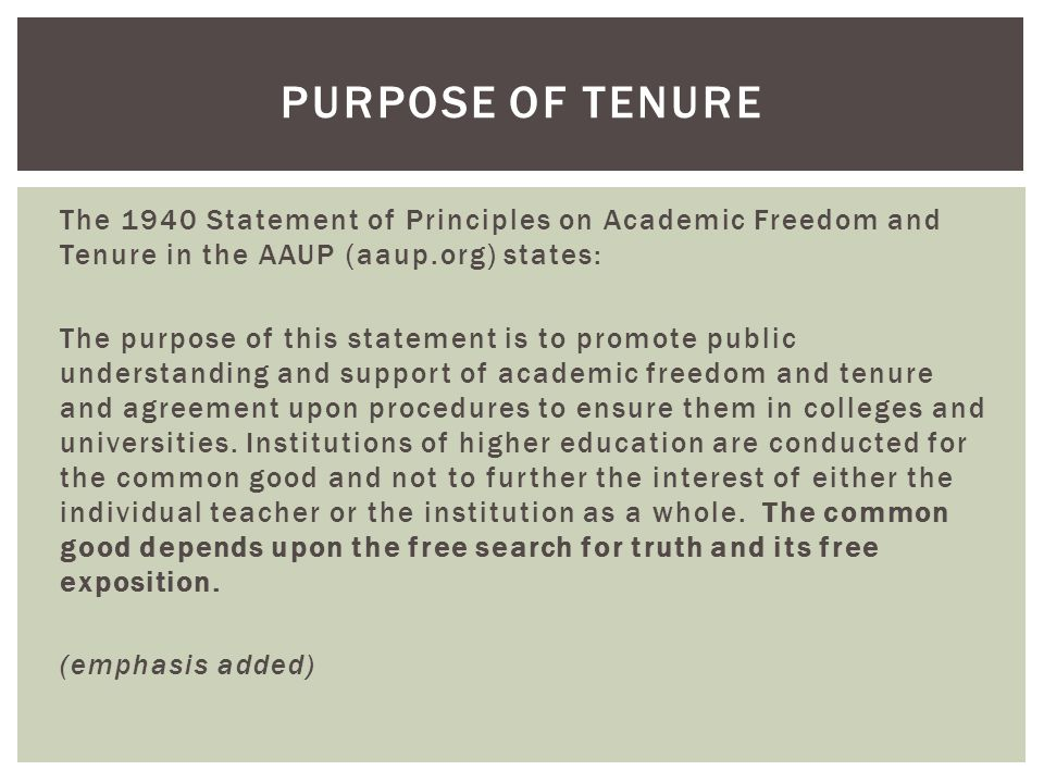 Academic freedom is essential to these purposes and applies to both teaching and research.