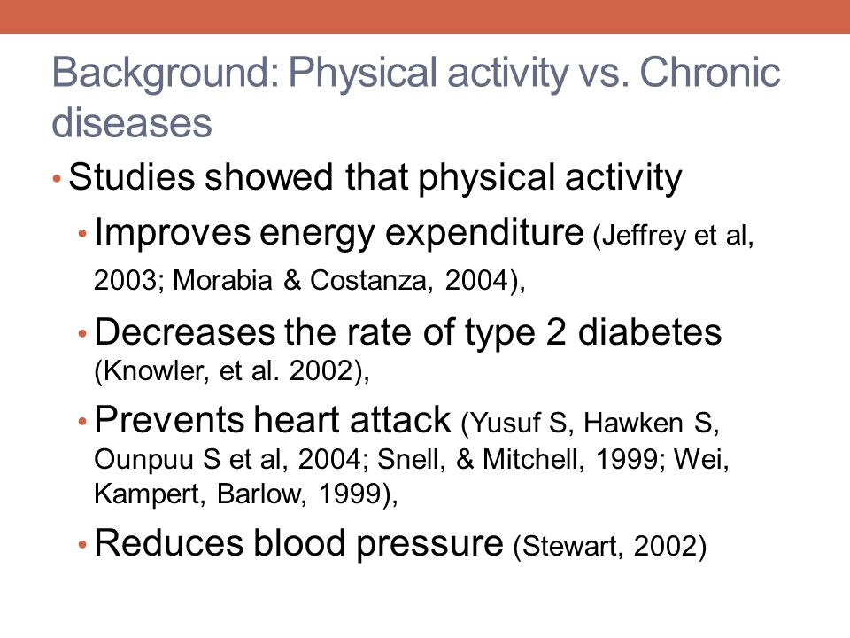 Results: Physical Activity Behavior When a question do you consider yourself physically active, why and why not.