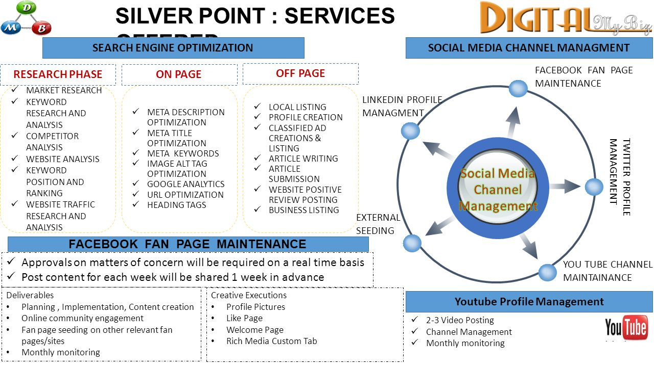 SILVER POINT : SERVICES OFFERED SEARCH ENGINE OPTIMIZATION MARKET RESEARCH KEYWORD RESEARCH AND ANALYSIS COMPETITOR ANALYSIS WEBSITE ANALYSIS KEYWORD