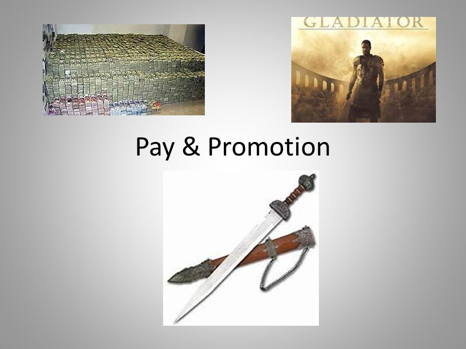 Pay & Promotion