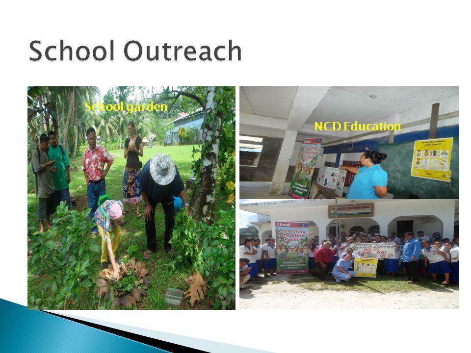 NCD Education School garden