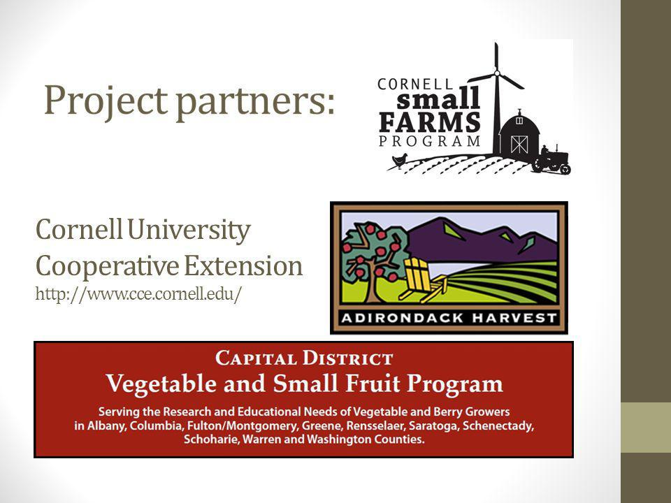 Cornell University Cooperative Extension http://www.cce.cornell.edu/