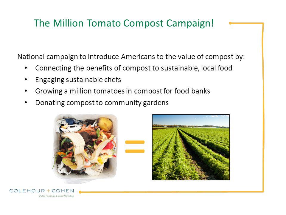 The Million Tomato Compost Campaign.