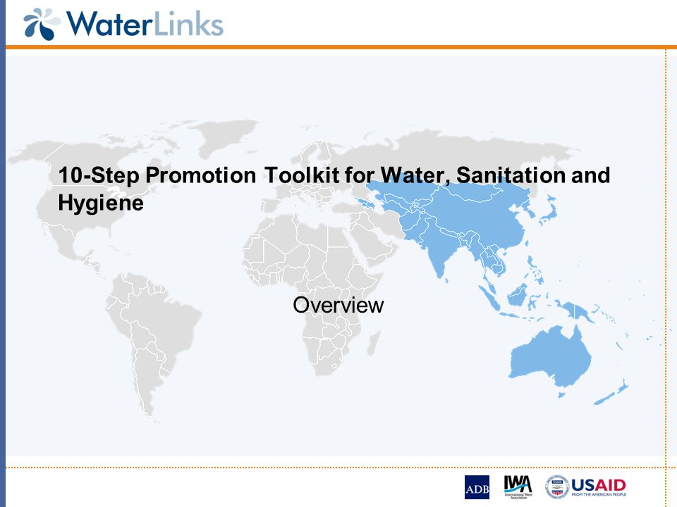 10-Step Promotion Toolkit for Water, Sanitation and Hygiene Overview