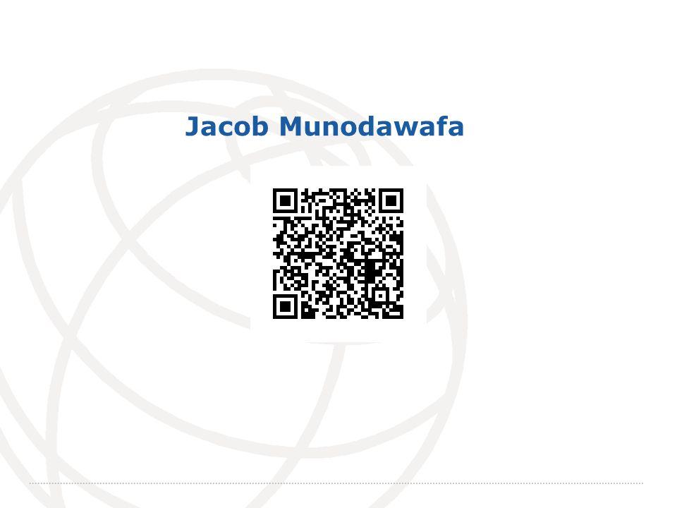 International Telecommunication Union Jacob Munodawafa