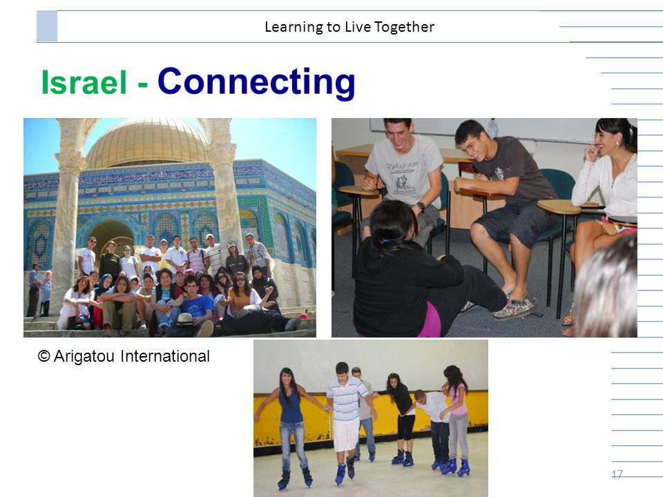 Israel - Connecting 17 Learning to Live Together © Arigatou International