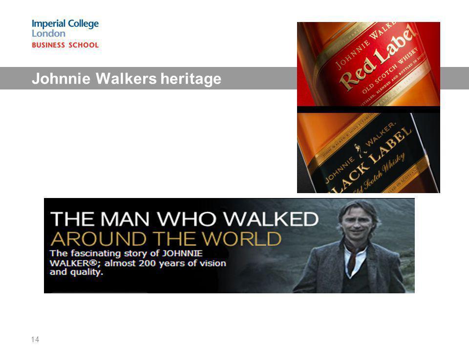 Johnnie Walkers heritage 14
