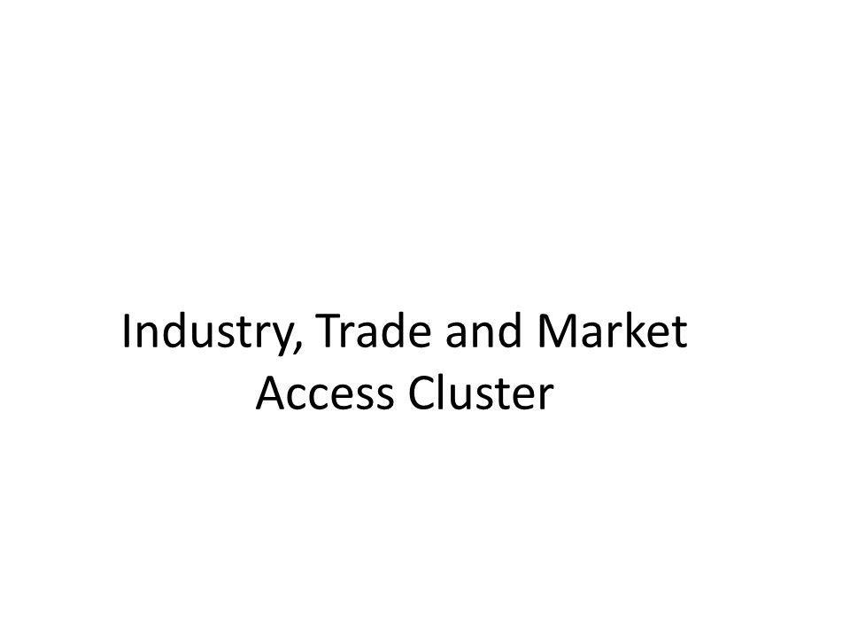 Industry, Trade and Market Access Cluster