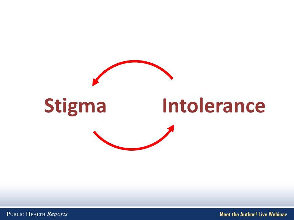 StigmaIntolerance