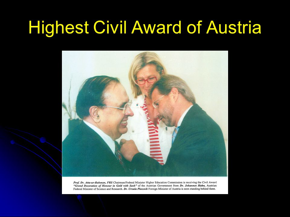 Highest Civil Award of Austria