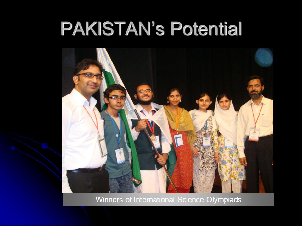 PAKISTANs Potential Winners of International Science Olympiads