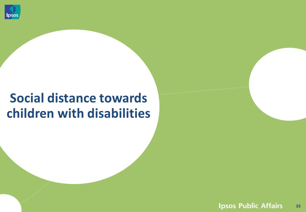 Social distance towards children with disabilities 35