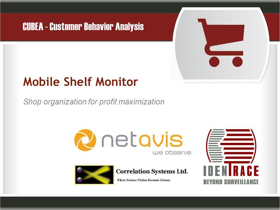 Mobile Shelf Monitor Shop organization for profit maximization