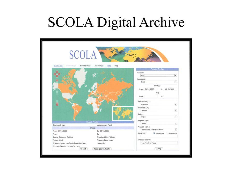 SCOLA Digital Archive