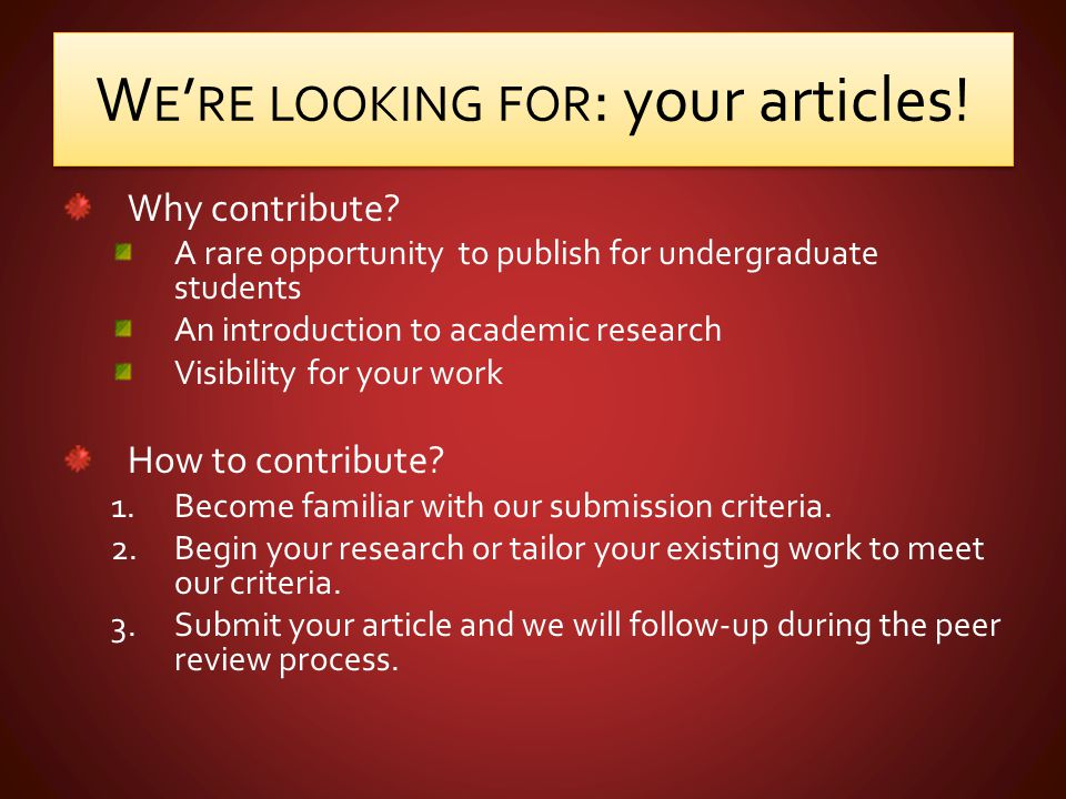 Important Information Visit our Website To find our submission criteria To get more information To read past editions Visit our Facebook® and Twitter® pages To keep up to date To give us suggestions, comments or complaints @RISSIJHS http://www.riss-ijhs.ca/ riss.ijhs@gmail.com http://www.riss-ijhs.ca/ riss.ijhs@gmail.com