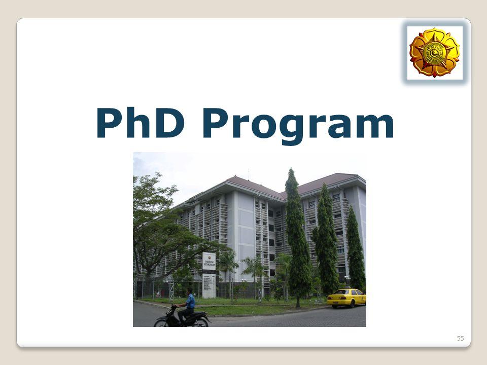 PhD Program 55