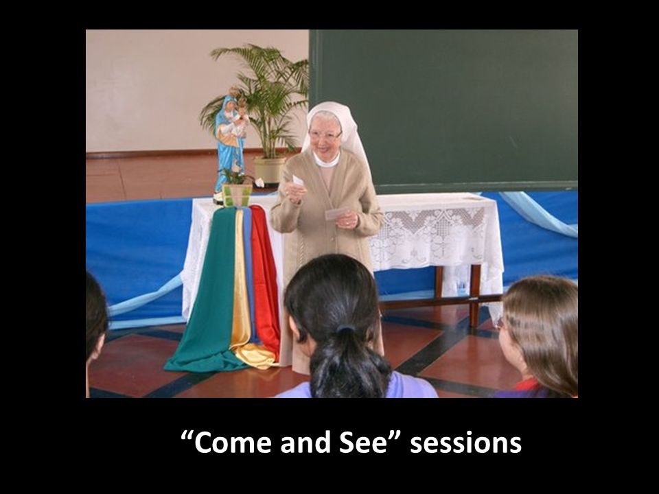 Come and See sessions