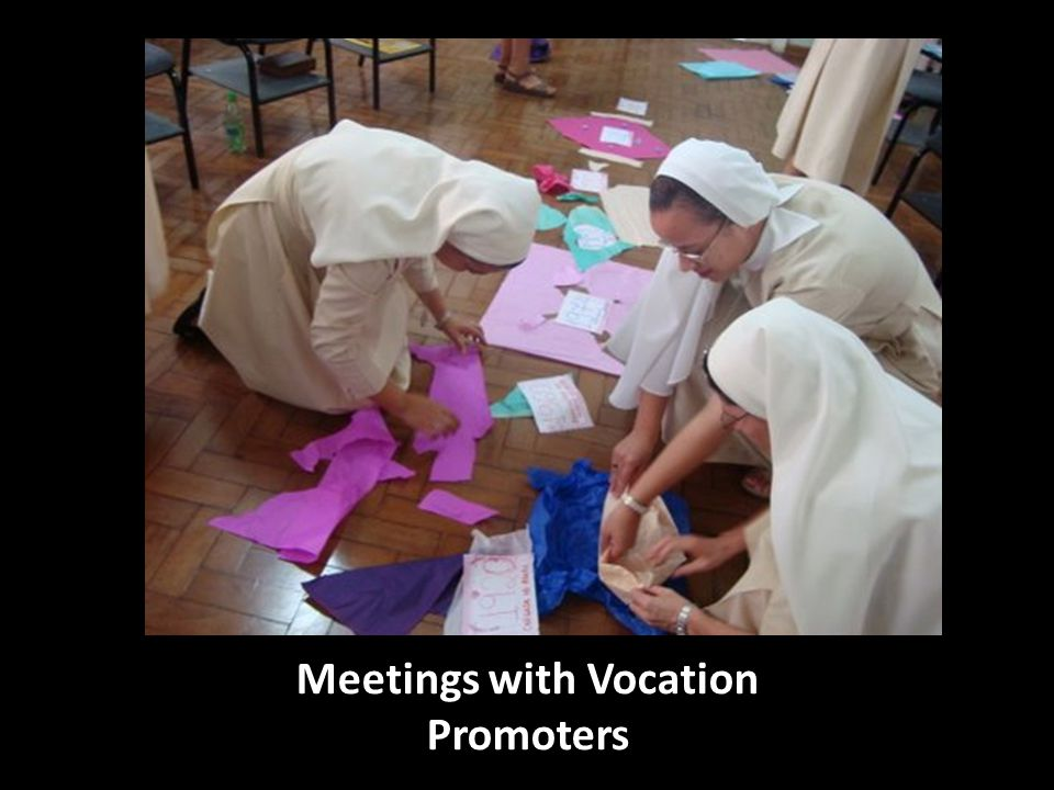 Meetings with Vocation Promoters