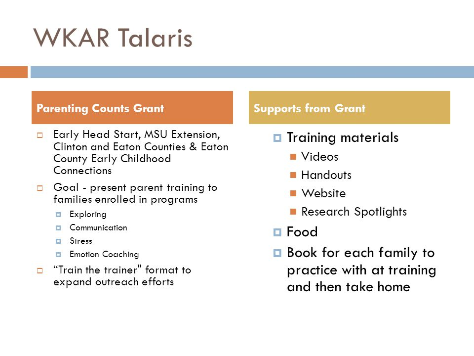 References & Resources Talaris Institute (2008).Look whos talking.