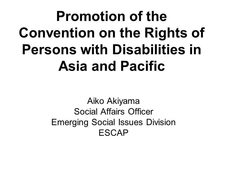 Planned activities, promoting CRPD Promotes monitoring of the implementation of laws and policies.