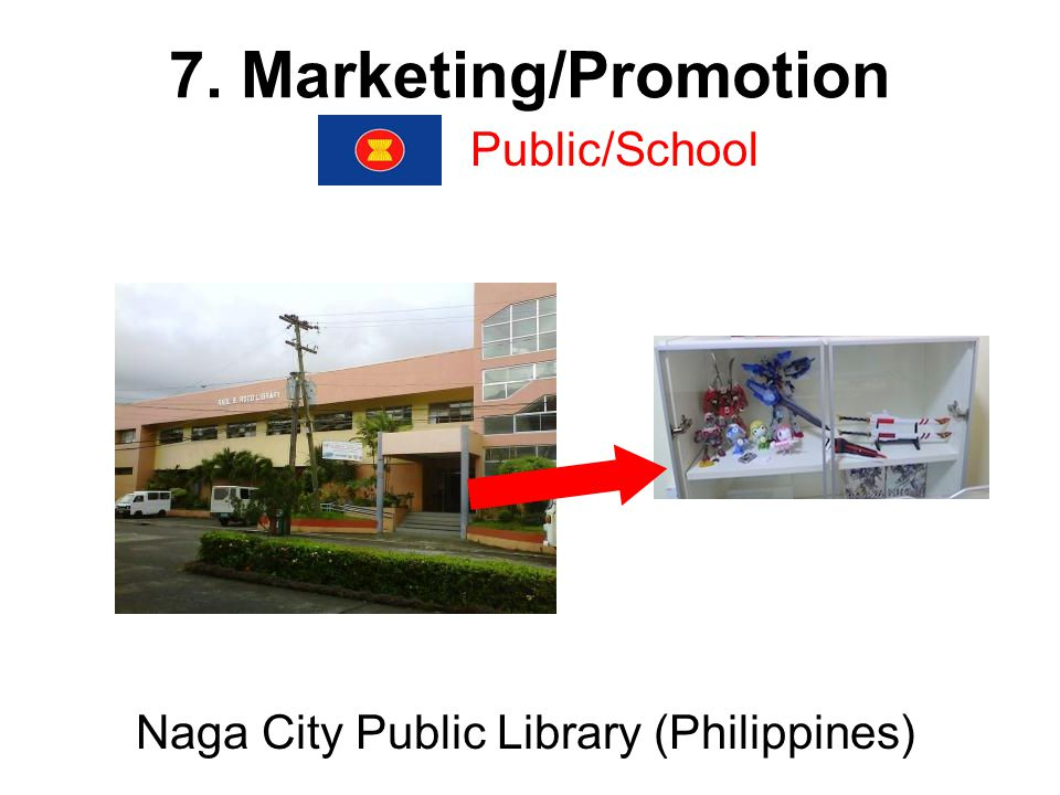 7. Marketing/Promotion Public/School Naga City Public Library (Philippines)