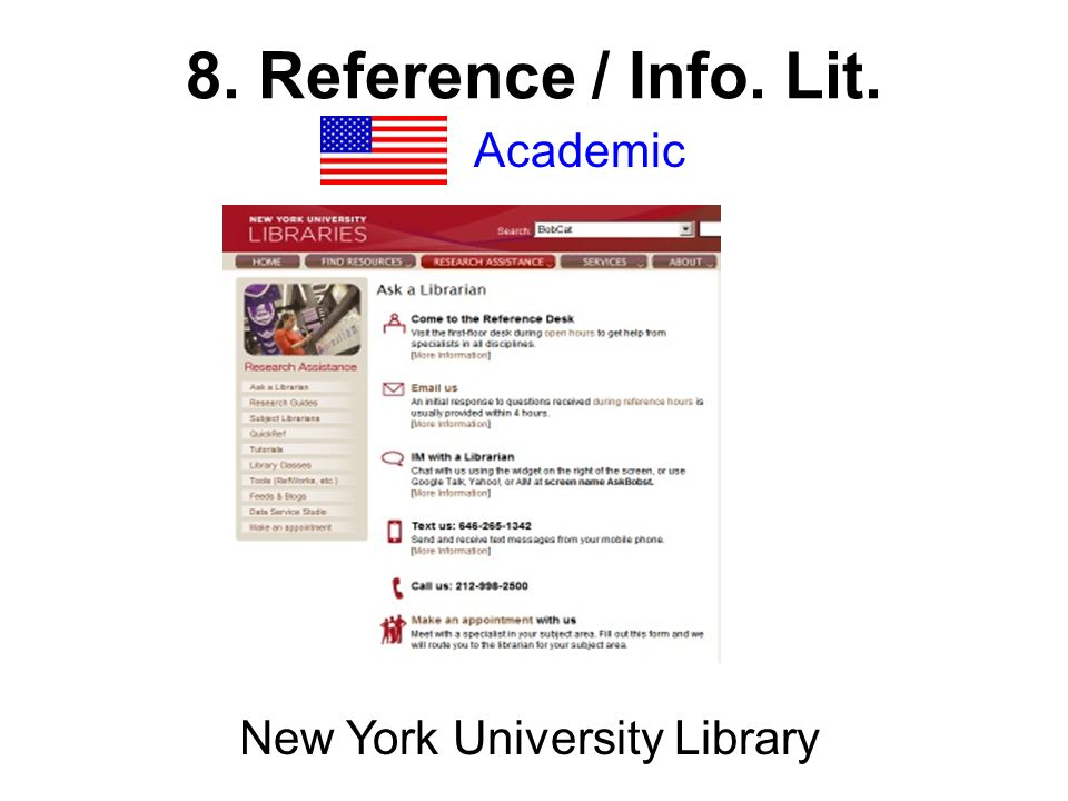 Academic New York University Library