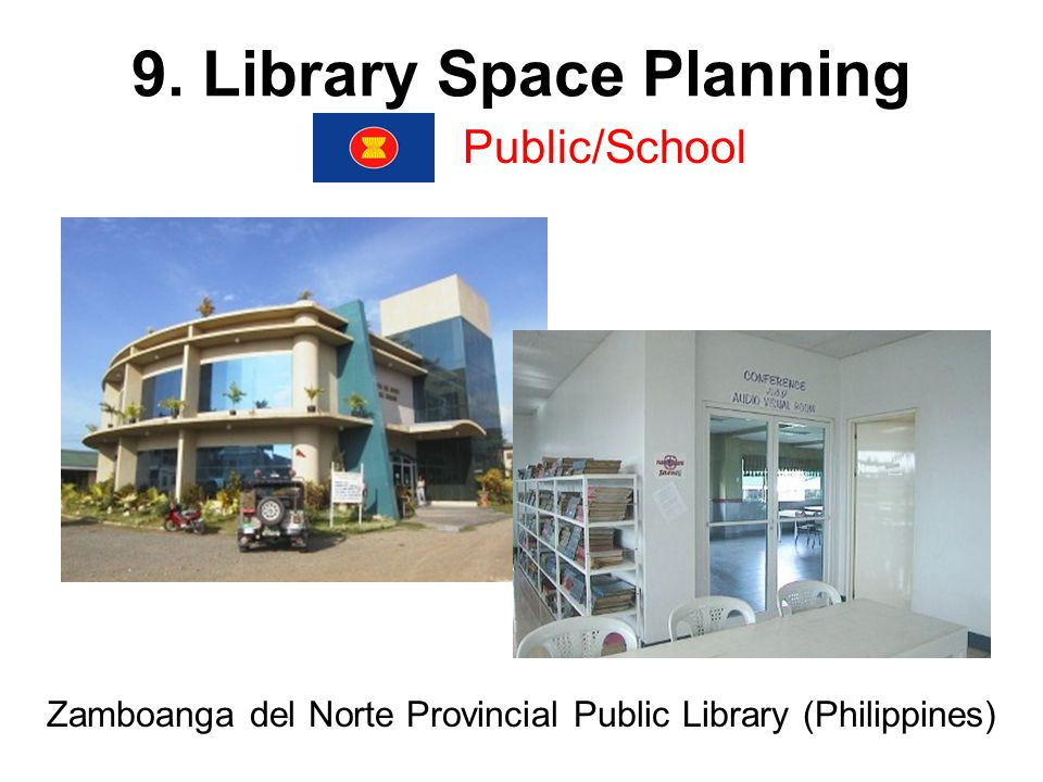 9. Library Space Planning Public/School Zamboanga del Norte Provincial Public Library (Philippines)