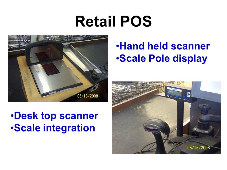 Retail POS Item Image display Scale integration