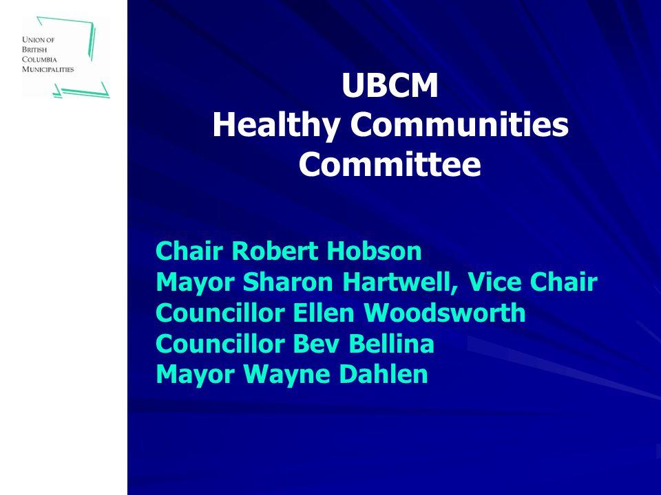 UBCM Community Health Promotion Fund