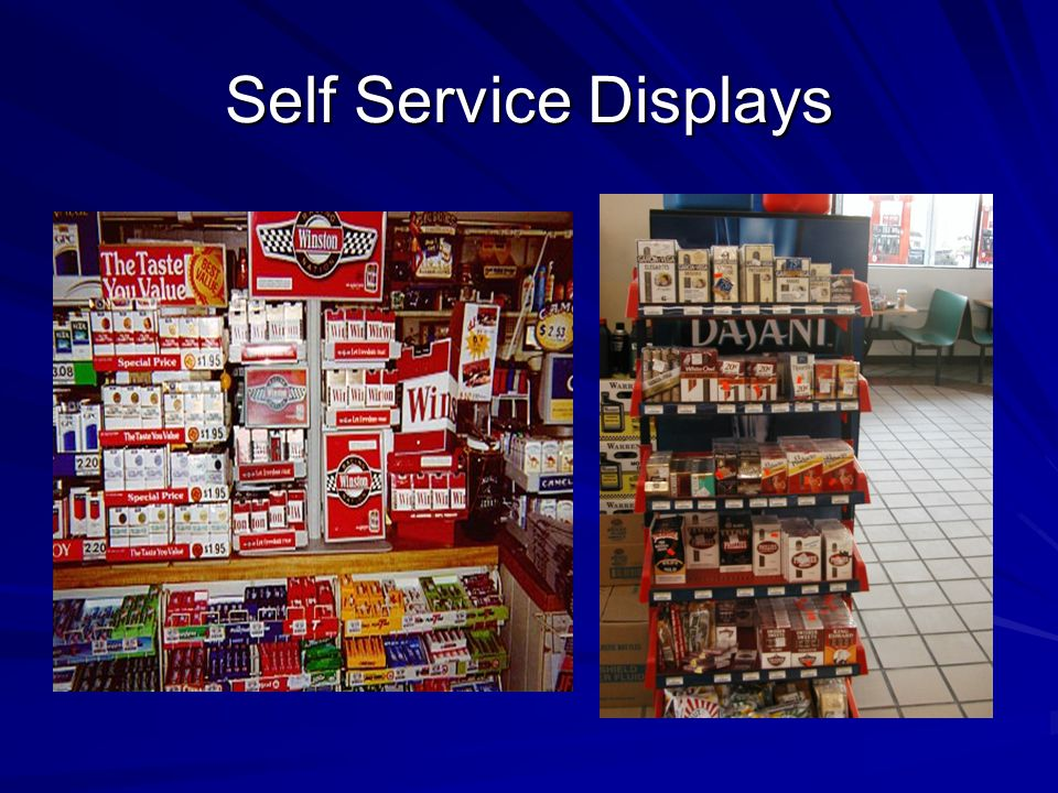 Self Service Displays