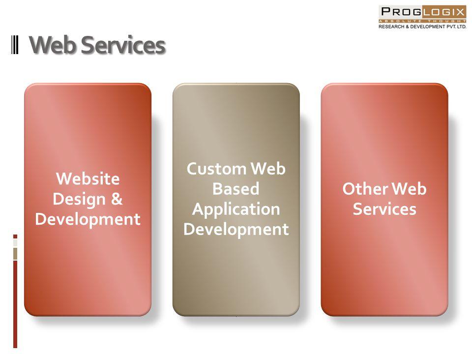Website Design & Development Informatics Websites Database Driven Websites E-Commerce & Shopping Cart Websites Flash & Animation Websites Enterprise Portals (Travel, Book) Social Networking Websites Blogs
