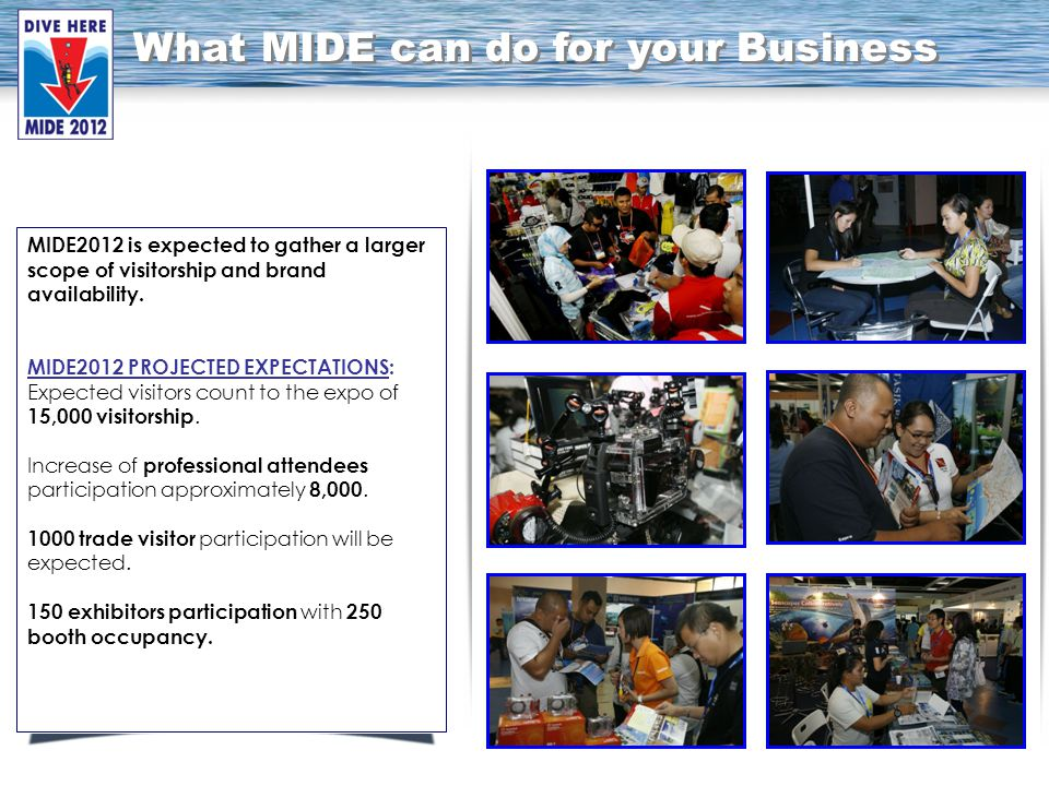 MIDE2012 is expected to gather a larger scope of visitorship and brand availability.