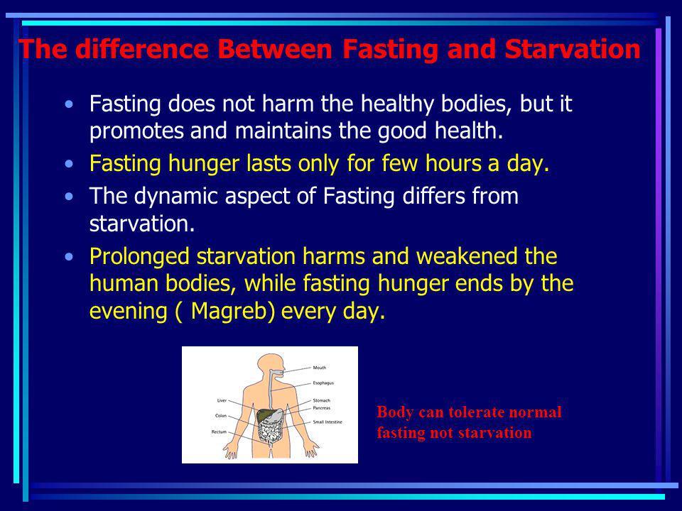 Healthy Eftar Break your fast early.
