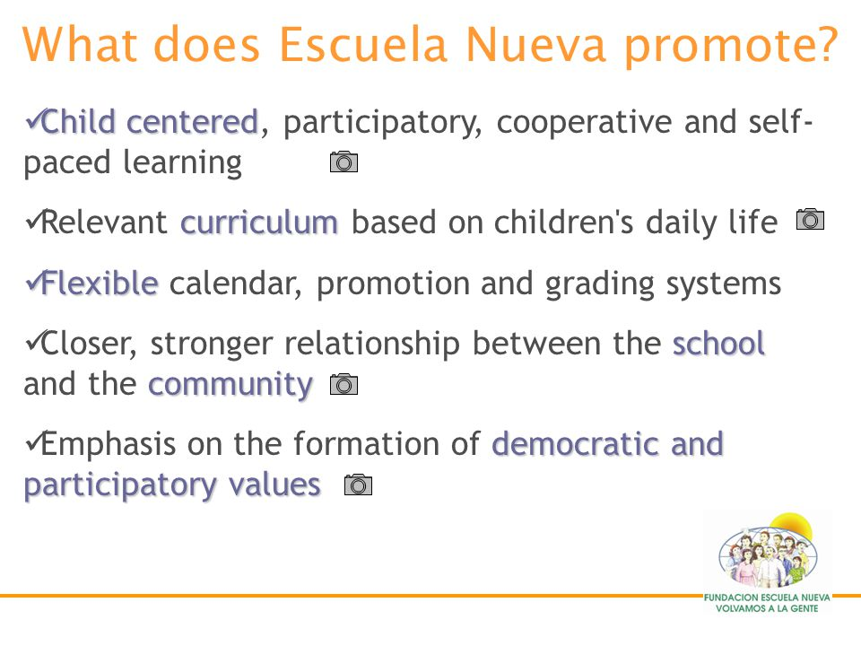 transforms Escuela Nueva transforms the conventional school innovation Basic education innovation developed in Colombia Set out to address all the nes