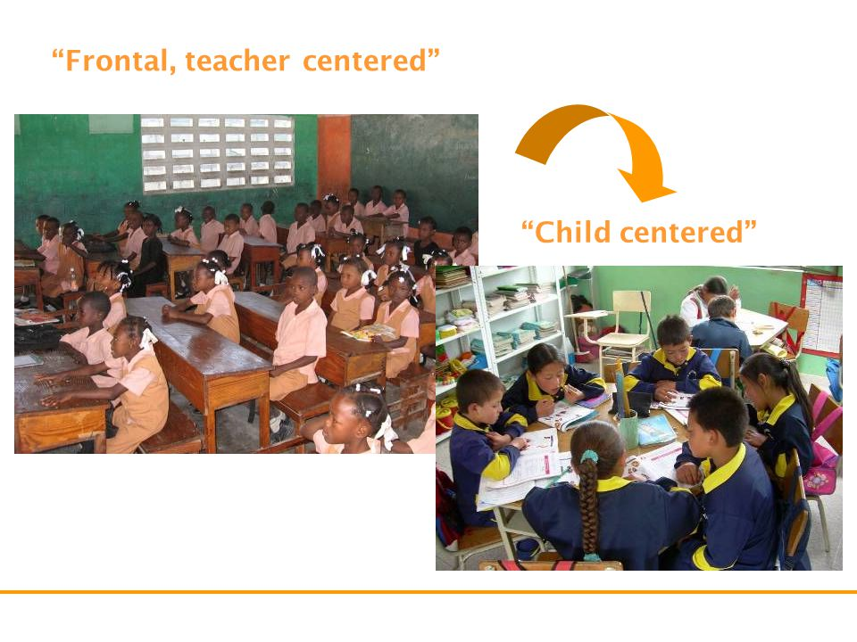 It is possible!! child-centeredparticipatory cooperative Escuela Nueva challenged massively the traditional teacher-centered frontal model and promote