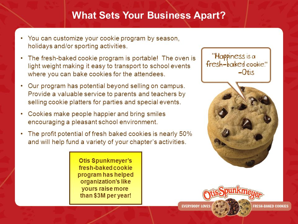What Sets Your Business Apart.