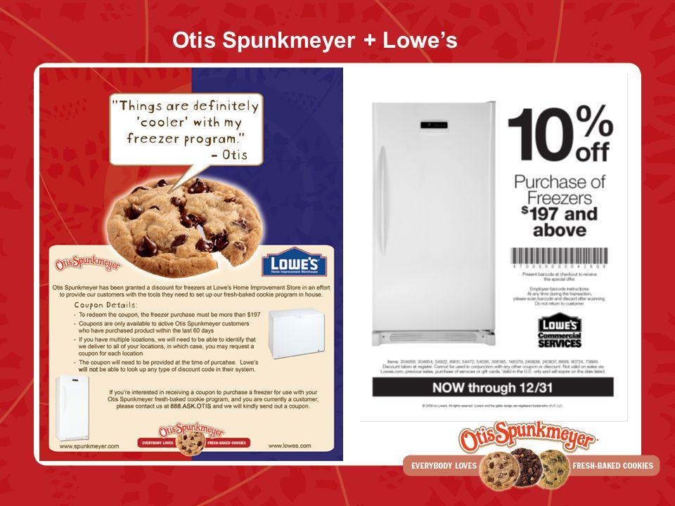 Otis Spunkmeyer + Lowes