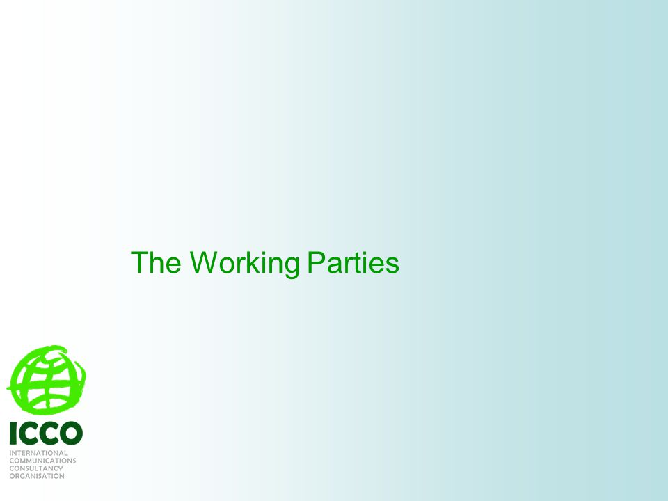The Working Parties