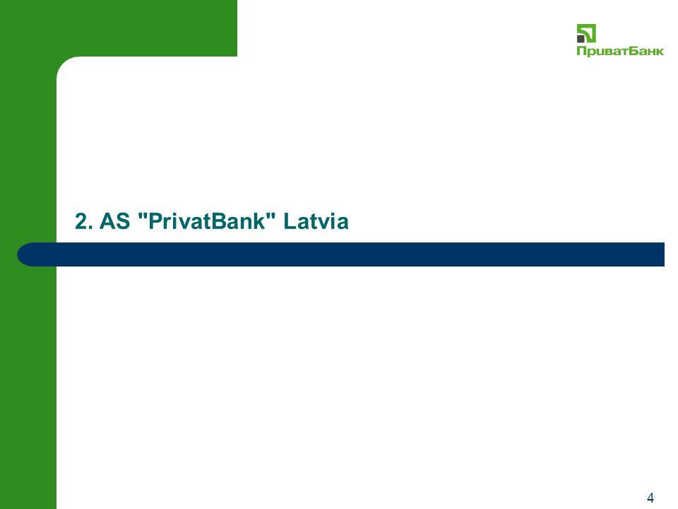 4 2. AS PrivatBank Latvia