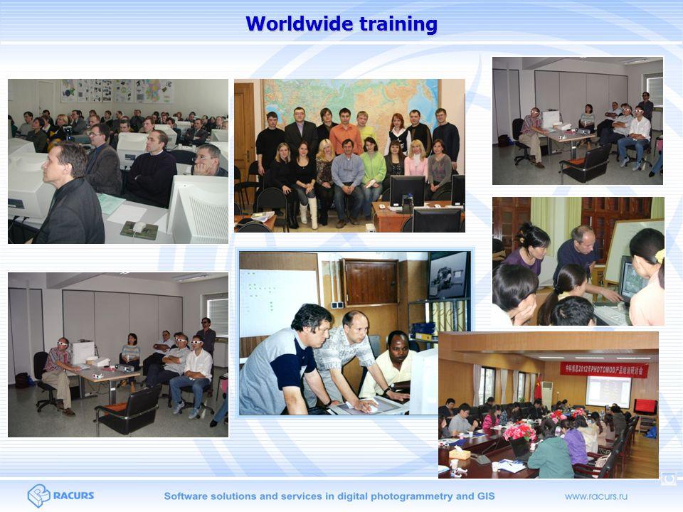Worldwide training