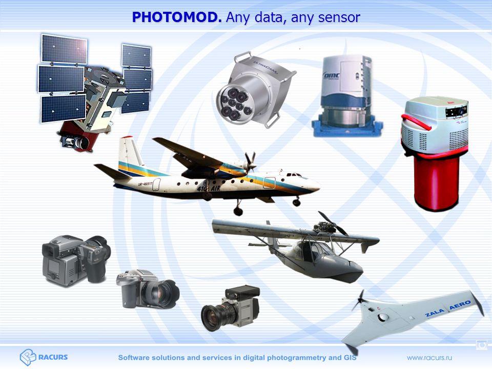 PHOTOMOD. Any data, any sensor