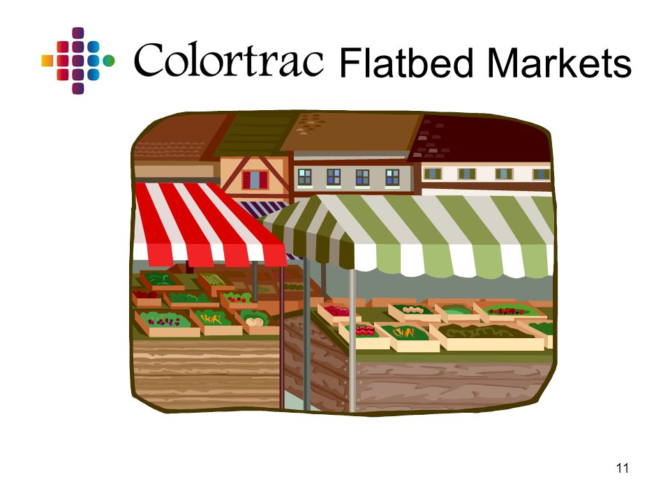 11 Flatbed Markets