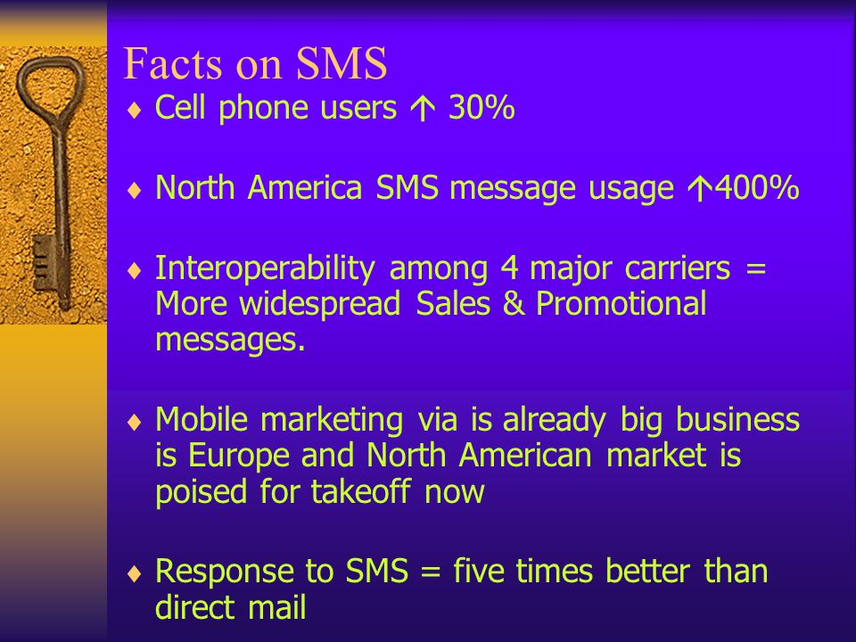 Sample Promotion Sample message delivered to a Nokia 6100 mobile telephone XXX Ltd.