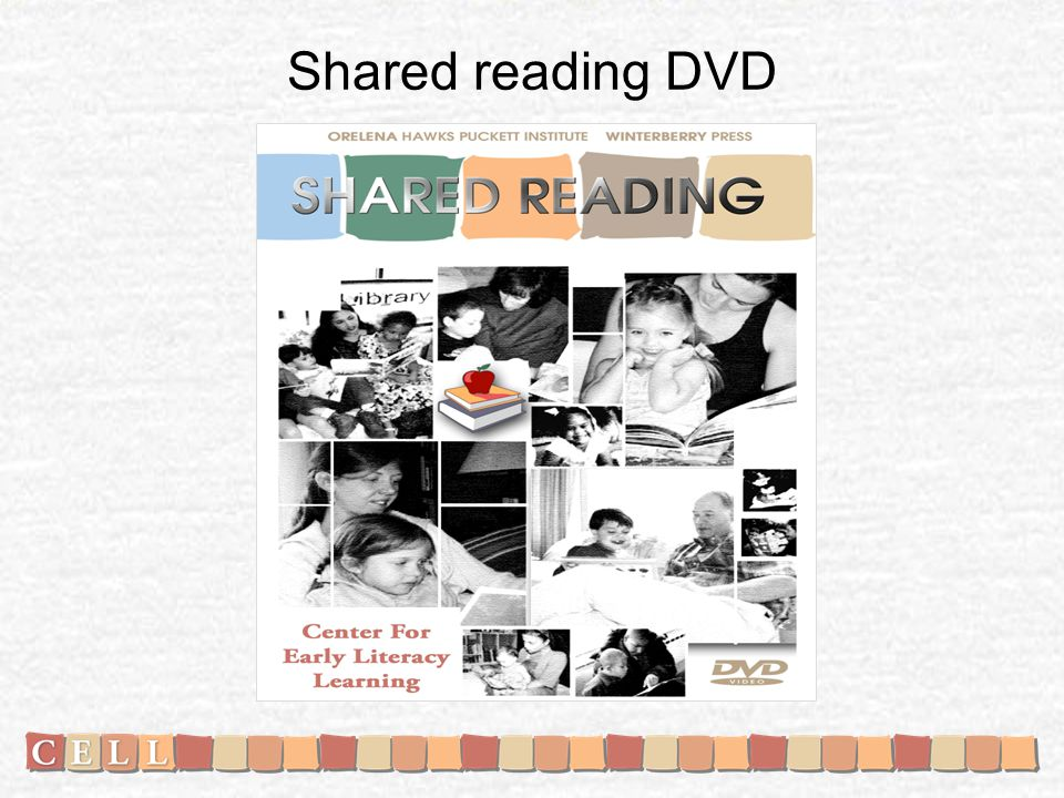 Shared reading DVD