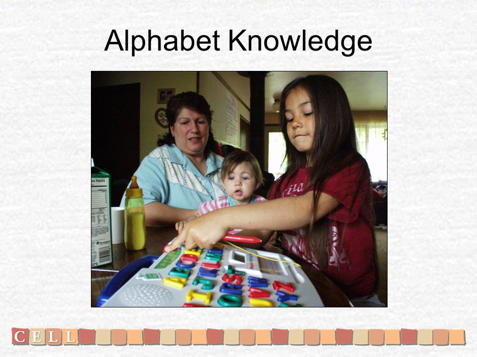 Alphabet Knowledge