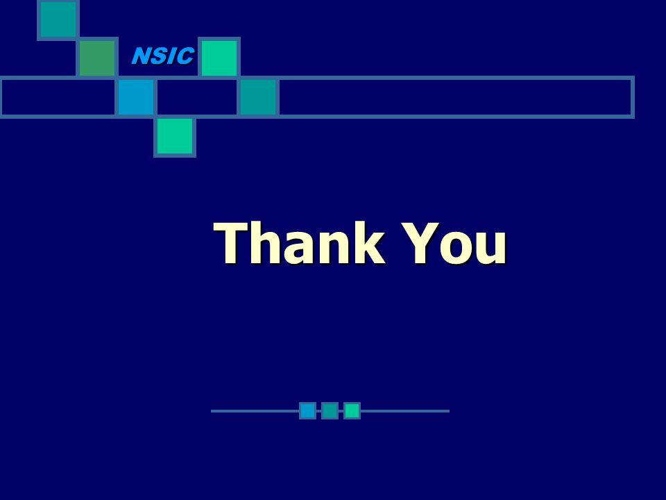 Thank You NSIC