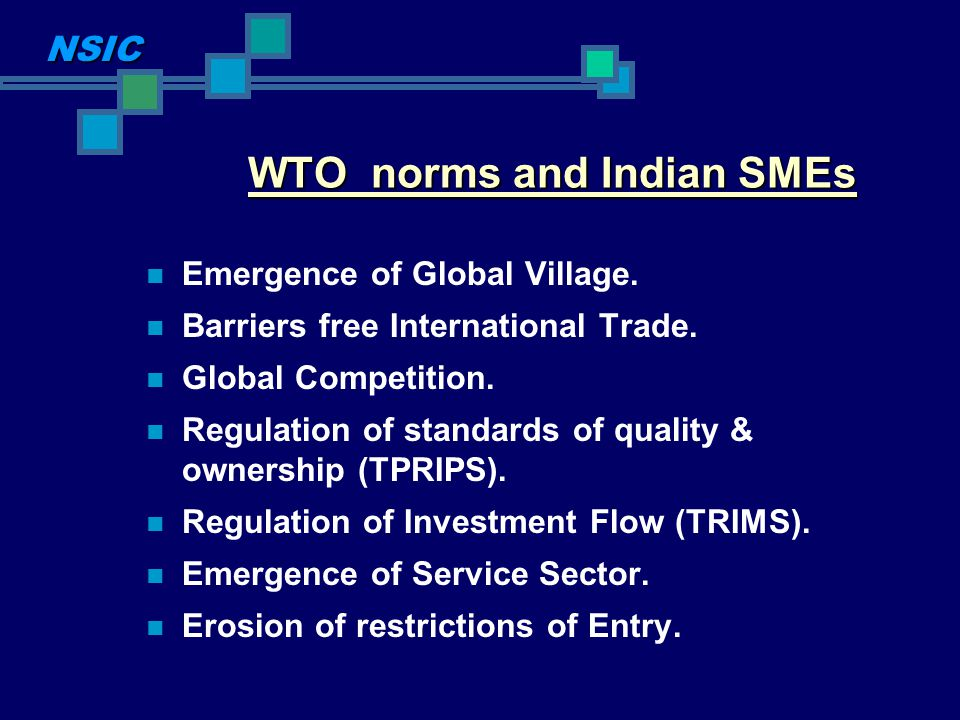 Institutional Support and Government Policies for Indian SMEs Formulation of MSMED Act 2006 Establishment of specific funds for SMEs promotion and development.