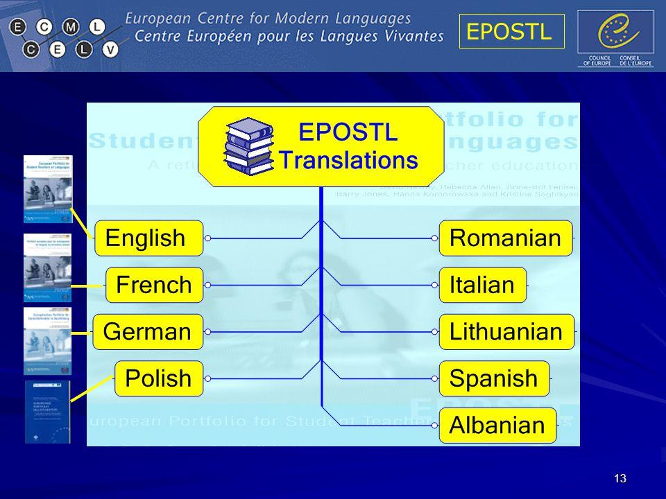 EPOSTL 13