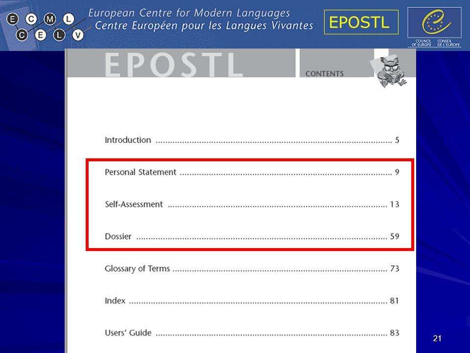 EPOSTL 21