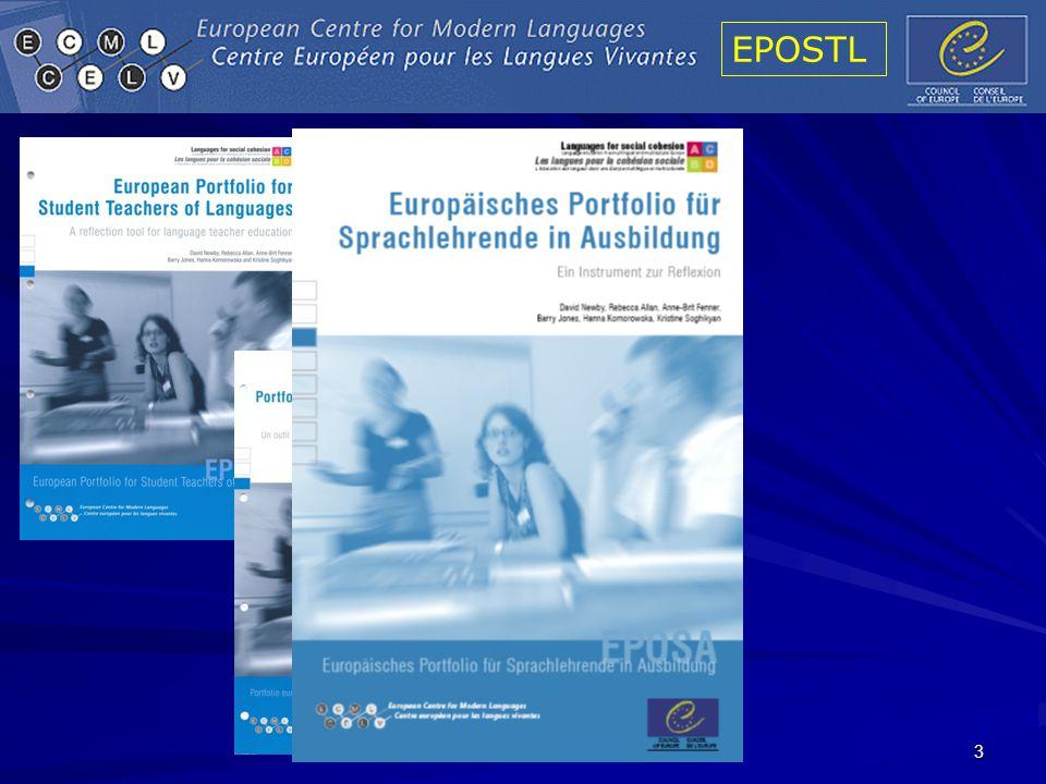 EPOSTL 44 CEFR: Overall reading comprehension (p.69)EPOSTL: Methodology, D.
